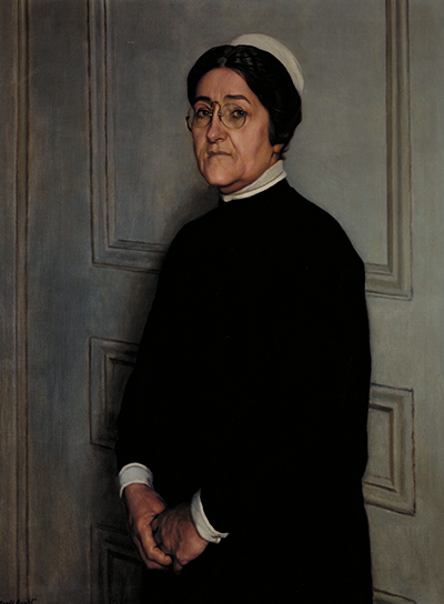 Portrait of Elsie Mildred Lawler