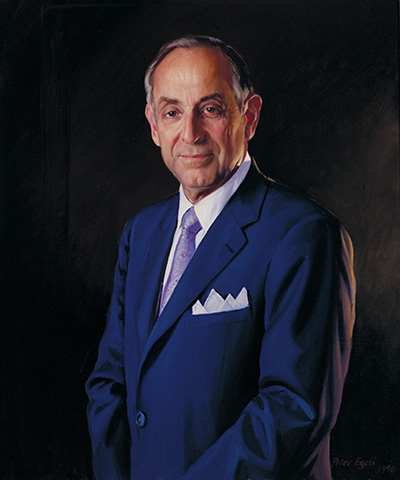 Portrait of Harvey M. Meyerhoff