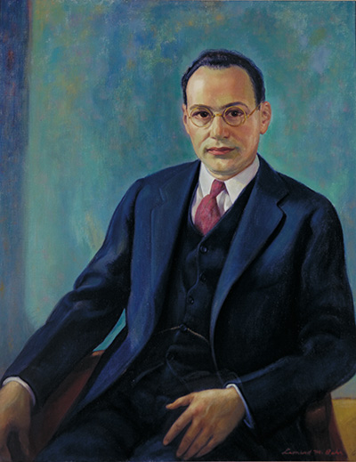Portrait of Jonas Stein Friedenwald