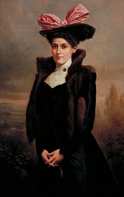 Portrait of Mary E. King