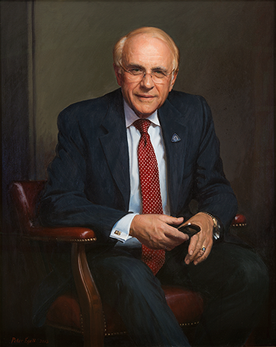 Portrait of Harold Edward Fox