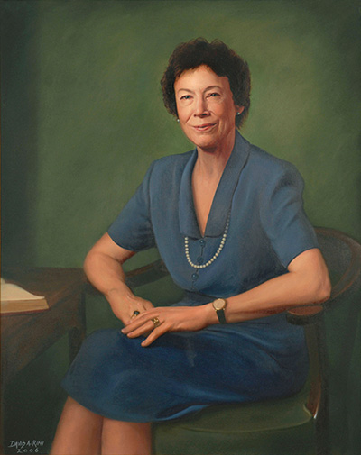 Portrait of Jerriann Myers Wilson