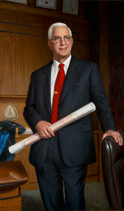 Portrait of Edward Doring Miller, Jr.